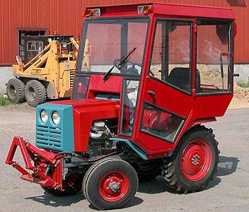 Механизм управления гусеничным трактором Т-150